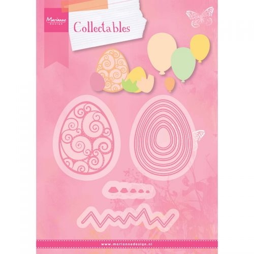 Marianne Collectable Easter Egg Balloon Die Set