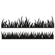 Craftable Grass Edge Border Die Set