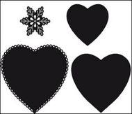Marianne Craftable Heart Die Cutter