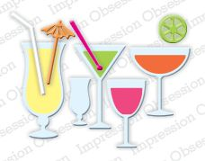 Mixed Drinks Die Cutting Set