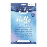 Hello Essential Words Stamp and Die Set