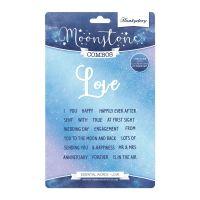 Love Essential Words Stamp and Die Set