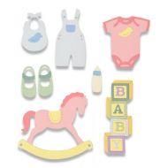 Thinlits New Baby Die Set