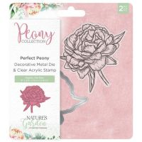 Perfect Peony Stamp and Die Set