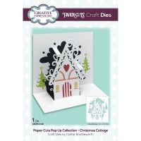 Christmas Cottage Pop Up Die