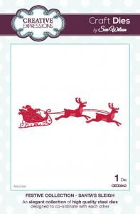 Santas Flying Sleigh and Reindeer (OUT OF STOCK)