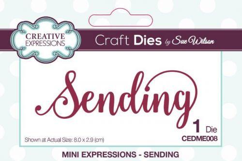 Mini Expressions Sending Die