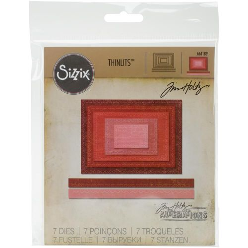 Sizzix Thinlits Stitched Rectangle Dies