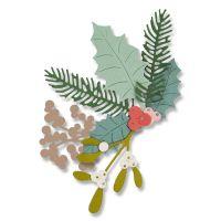Sizzix Thinlits Winter Foliage Die Set
