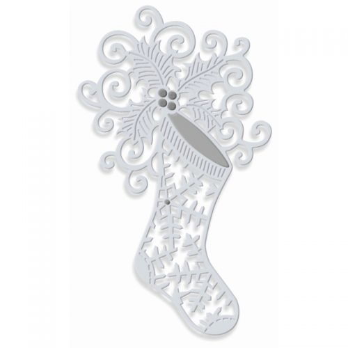 Snowflake Stocking Die