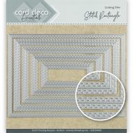 Double Stitched Rectangles Die Set