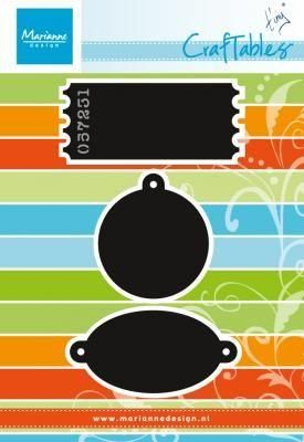 Marianne Craftable Tags and Tickets