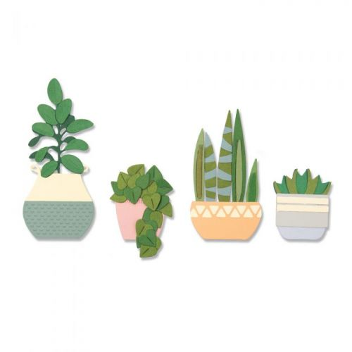 Thinlits Dimensional Botanicals Succulents Die Set