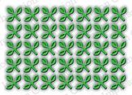 Tiny Three Leaf Cluster Die