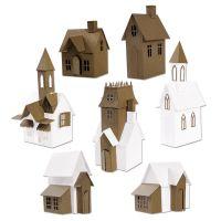 Sizzix Thinlits Village Collection Die Set