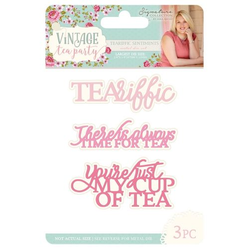 Teariffic Sentiments Die Cutting Set