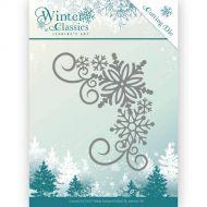 Winter Snowflake Corner Die