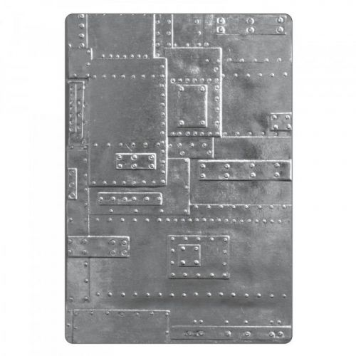 3D Texture Fades Foundry Embossing Folder