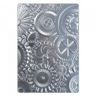 3D Texture Fades Mechanics Embossing Folder
