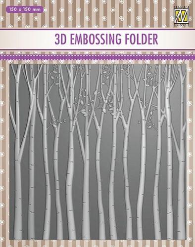Trees 3D Embossing Folder
