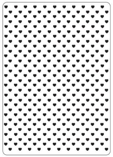 Hearts Embossing Folder