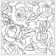 Roses Embossing Folder