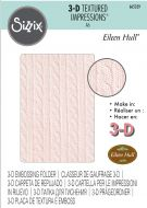 Cable Knit Sweater 3D Embossing Folder