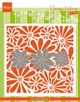 Daisy Embossing Folder and Die Set