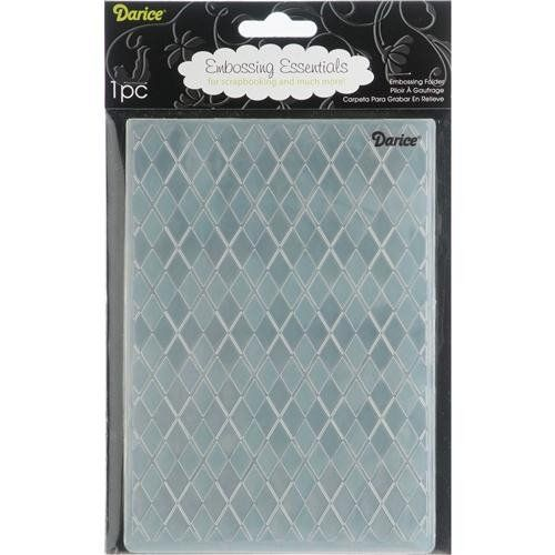 Argyle Embossing Folder