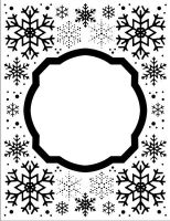 Embossing Folder Eve's Snowflakes