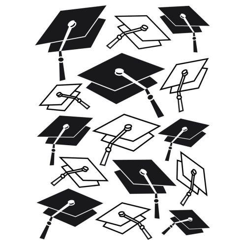 Graduation Hats Embossing Folder