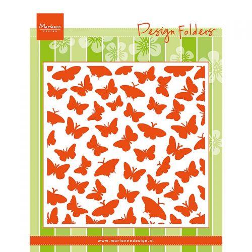 Butterflies Embossing Folder