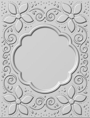 3D Embossing Folder Natalie's Poinsettias