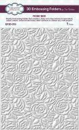 Rose Bed 3D Embossing Folder