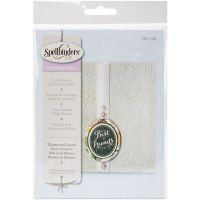 Spellbinders Flowers and Leaves Embossing Folder