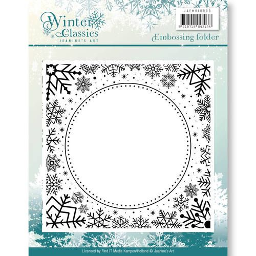 Winter Classic Embossing Folder