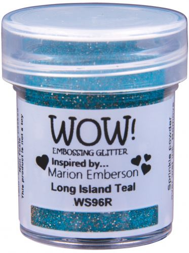 WOW Embossing Powder Long Island Teal