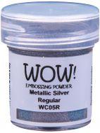WOW Embossing Powder Metallic Silver