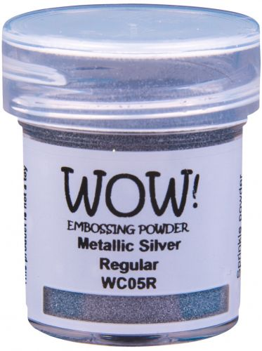 WOW Embossing Powder Metallic Silver