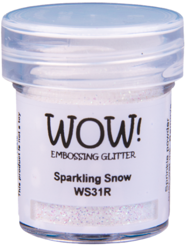 WOW Embossing Powder Sparkling Snow
