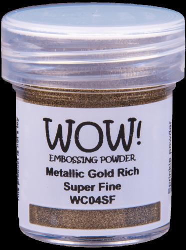 WOW Embossing Powder Metallic Gold Rich