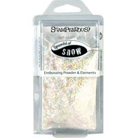 Stampendous Glitter Snow Embossing Powder