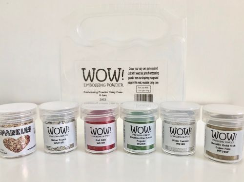 WOW Embossing Powder Christmas 6 Pack