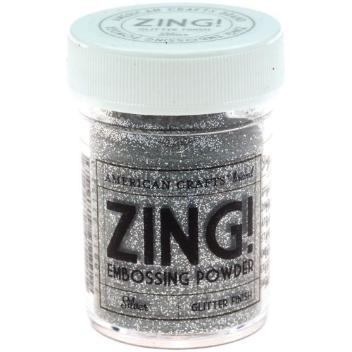 Zing Embossing Powder Silver Glitter