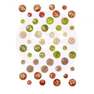 Country Christmas Adhesive Crystal Dots