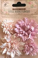Chrissy Mulberry Paper Flowers Pink