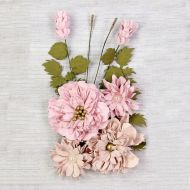 Elsie Mulberry Paper Flowers Pink (OUT OF STOCK)