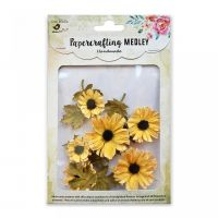 Hand Made Mulberry Paper Sunflowers