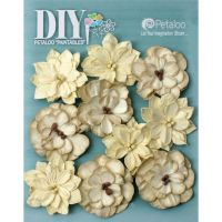 Petaloo Paintables Dahlias