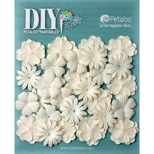 Petaloo Paintables Mulberry Flowers